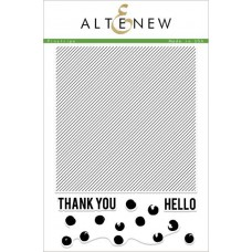 Altenew -  Pinstripe - Clear Stamps 6x8