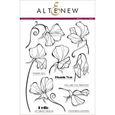 Altenew -  Sweetest Peas - Clear Stamps 6x8