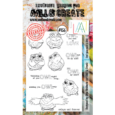 AALL and Create - A6 Stamps - Owl You Need Is Love
