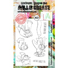 AALL & Create - A6 Stamps - Nutty Squierls