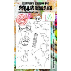AALL and Create - A6 Stamps - Cheesy Wishes
