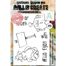 AALL and Create - A6 Stamps - Critters 18