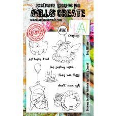 AALL and Create - A6 Stamps - Dog Attitude
