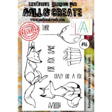 AALL and Create - A6 Stamps - Fox 16