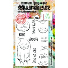 AALL and Create - A6 Stamps - Spooks