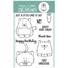 Gerda Steiner Designs - All Cats - 4x6 Clear Stamp Set