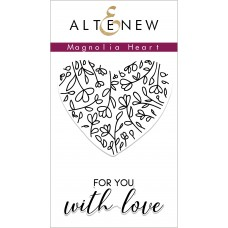 Altenew - Magnolia Heart - Clear Stamps 2x3