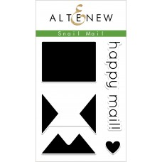 Altenew - Snail Mail - Clear Stamps 2x3