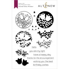 Altenew - Stained Glass Window - Clear Stamp 6x8