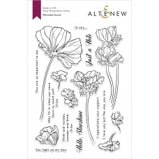 Altenew - Wonderland - Clear Stamp 6x8