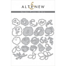Altenew - Garden Picks 3D - Stanze