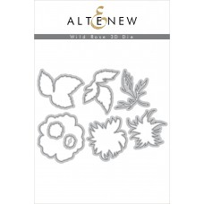 Altenew - Wild Rose 3D - Stanze