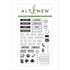 altenew - basic headers - clear stamps 4x6