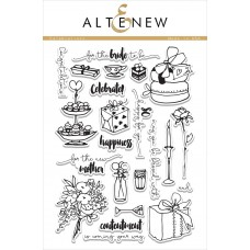 Altenew - Celebrations - Clear Stamps 6x8