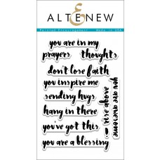 Altenew - Painted Encouragement - Clear Stamps 4x6