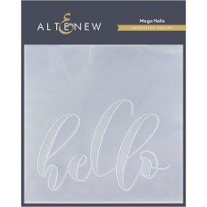 Altenew - 3D Debossing Folder - Mega Hello