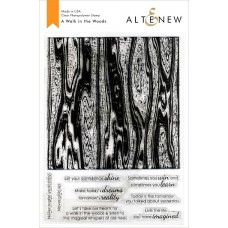 Altenew - A Walk In The Woods - Clear Stamp 6x8