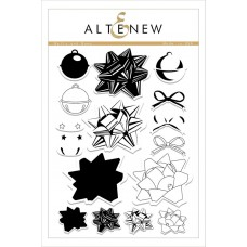 Altenew - Bells And Bows - Clear Stamps 6x8