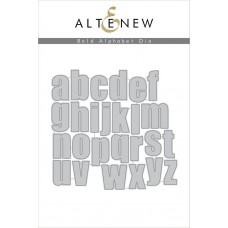 Altenew - Bold Alphabet - Stanze