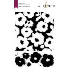 Altenew - Bold Floral Drape - Clear Stamp 6x8