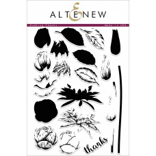 Altenew - Budding Thanks - Clear Stamp 6x8