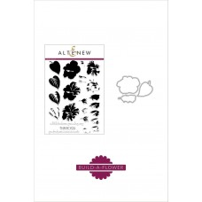 Altenew - Build A Flower: Hibiscus - Clear Stamps 6x8 und Stanzen