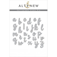 Altenew - Calligraphy Alpha - Stanze
