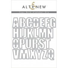 Altenew - Caps Bold Alphabet - Stanze