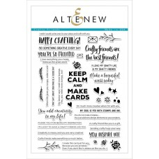 Altenew - Crafty Friends - Clear Stamps 6x8