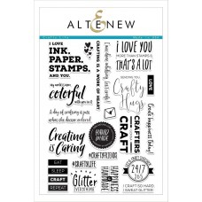 Altenew - Crafty Life - Clear Stamp 6x8