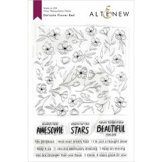 Altenew - Delicate Flower Bed - Clear Stamp 6x8