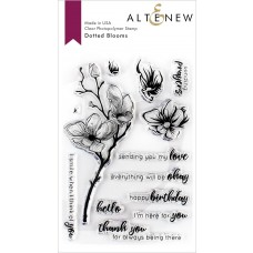 Altenew - Dotted Blooms - Clear Stamps 4x6