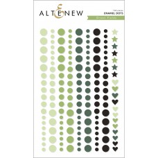 Altenew - Enamel Dots - Green Fields