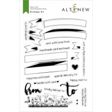 Altenew - Envelope Art - Clear Stamps 6x8