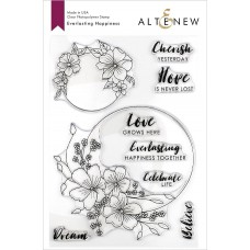 Altenew - Everlasting Happiness - Clear Stamp 6x8