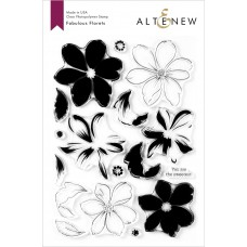 Altenew - Fabulous Florets - Clear Stamps 6x8