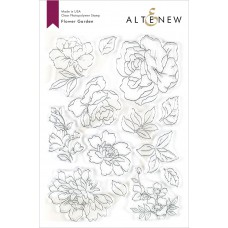 Altenew - Flower Garnden - Clear Stamp