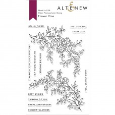 Altenew - Flower Vine - Clear Stamp 4x6