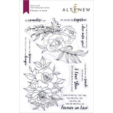 Altenew - Forever In Love - Clear Stamp 6x8