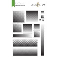 Altenew - Halftone Squares - Clear Stamp 6x8