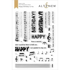 Altenew - Happy Birthday to You - Clear Stamps 6x8