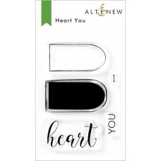 Altenew - Heart You - Clear Stamp 2x3