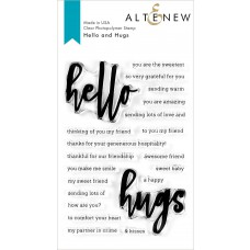 Altenew - Hello and Hugs - Clear Stamps 4x6