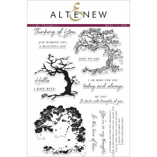 Altenew - In My Thoughts - Clear Stamps