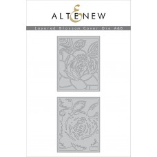 Altenew - Layered Blossom Cover - A+B Stanzen