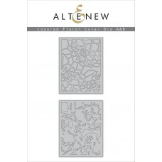 Altenew - Layered Floral Cover A + B - Stanze