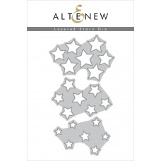 Altenew - Layered Stars - Stanze