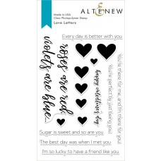 Altenew - Love Letters - Clear Stamp 4x6