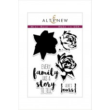 Altenew - Mini Rose - Clear Stamps 2x3