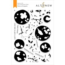 Altenew - Nature Snippets - Clear Stamp 6x8